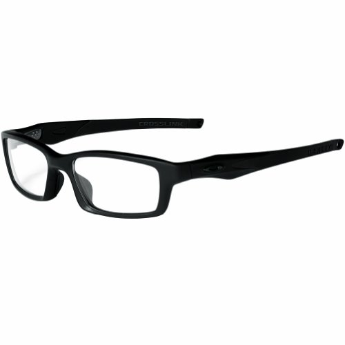 5e3e6afa89 Oakley Crosslink Men s RX Prescription Frame - Satin Black Black Size 53-17