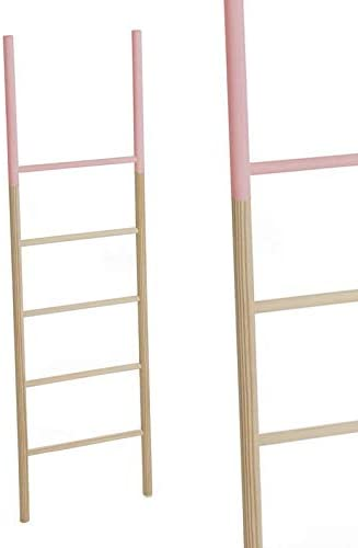 Escalera Madera Rosa 150 cm: Amazon.es: Hogar