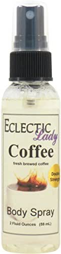 Coffee Body Spray (Double Strength), 2 ounces