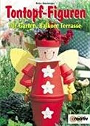 Tontopf-Figuren für Garten, Balkon, Terrasse