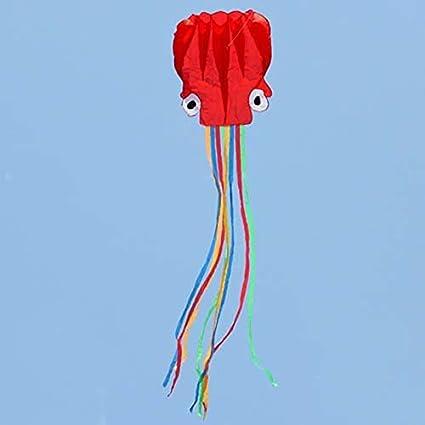 Quate Cometa Octopus fácil de volar, perfecta cometa para niños ...