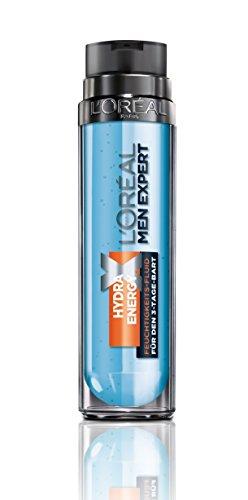 L'Oréal Men Hydra Energy Xtreme Feuchtigkeitscreme 3-Tage-Bart - Pflege für Bart und Gesicht (24h Feuchtigkeit, klebt und fettet nicht), 1er Pack (1 x 50 ml)