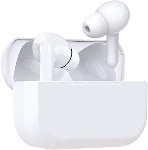 Wireless Earbuds Air Podswireless Bluetooth 5.0 Headphones Bulit-in Mic Noise Cancelling 3-D Stereo in Ear Ear Buds,Mini Fast Charging Case IPX5 Waterproof Earbuds for Airpods Pro/iPhone/Apple/Android