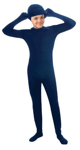 [Forum Novelties I'm Invisible Bodysuit, Blue, Child's Large] (Blue Jumpsuit Costumes)