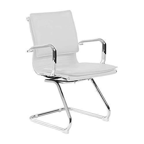 Cadeira De Escritorio Interlocutor Eames Comfort Branca