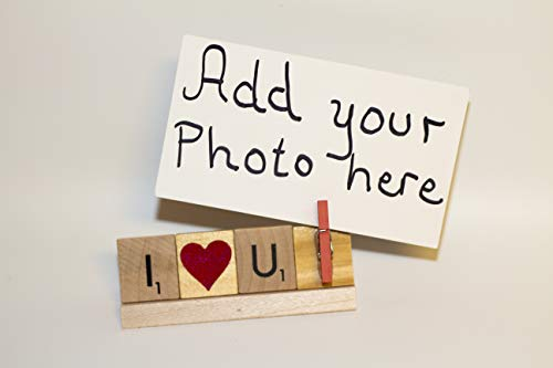 I Love You Photo Holder, I Love You Frame, I Love You Photo, Valentines Day Frame, Birthday Frame, Christmas Frame