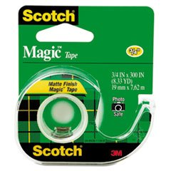 MMM105 - Scotch Magic Tape w/Refillable - Magic Mmm105