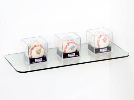 Curved Corner Glass Shelf (Bluegate Inc Bathroom Tempered Glass Rectangle Corner Shelf 6