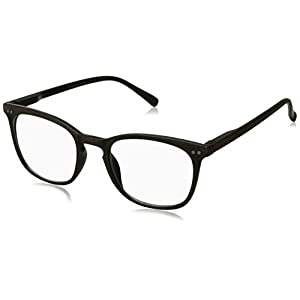 Peepers Unisex-Adult Main Event 2208150 Oval Reading Glasses, Brown