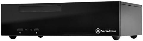 Silverstone SST-ML09B HTPC Negro Carcasa de Ordenador - Caja de Ordenador (HTPC, PC, Acrílico, De plástico, Acero, Mini-DTX, Mini-ITX, Negro, 0,8 mm): Amazon.es: Informática