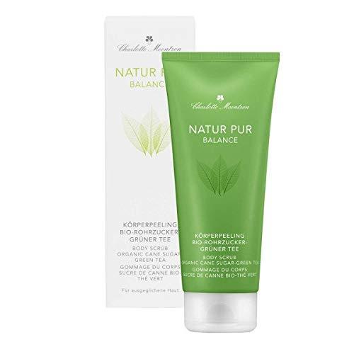 Charlotte Meentzen – Naturale Pur Balance – peeling per il corpo Bio zucchero verde tè – 200 ml