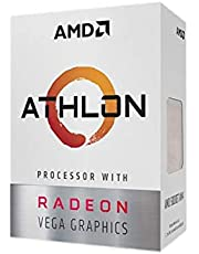 AMD Athlon 200GE 3.2GHz 4MB L3 Caja - Procesador (AMD Athlon, 3,2 GHz, Zócalo AM4, PC, 14 NM, 200GE)
