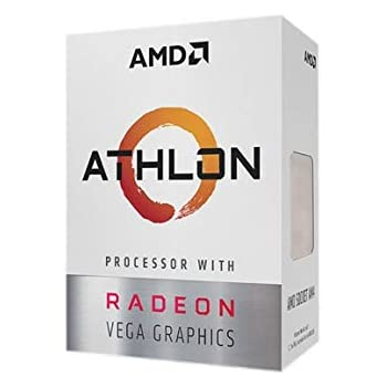 AMD Athlon 200GE 2-Core 4-Thread AM4 Socket Desktop Processor with Radeon  Vega Graphics (YD200GC6FBBOX) aed1d20d91a2