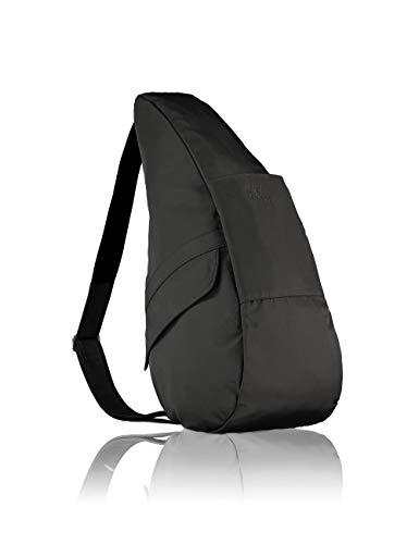 AmeriBag Classic Healthy Back Bag Tote Microfiber Medium (Black) ()