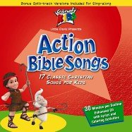 Action Bible Songs - 17 Classic Christian Songs for Kids by Cedarmont Music
