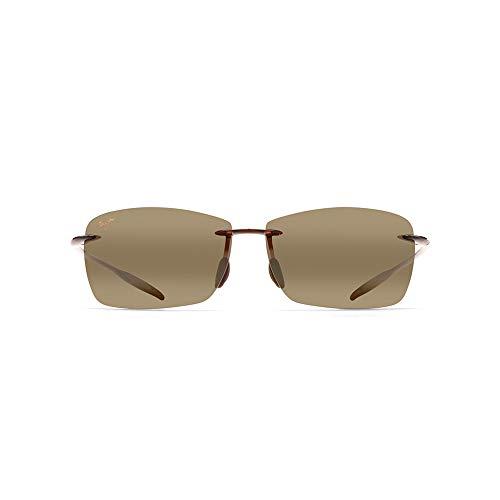 Mens Maui Jim Lighthouse Polarized Sunglasses (Rootbeer Frame/Hcl Bronze Lens)