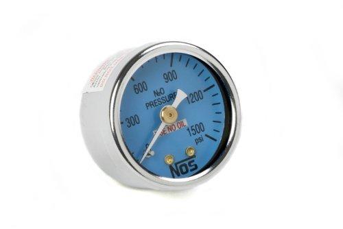 NOS 15913NOS Nitrous Pressure Gauge by NOS/Nitrous Oxide System