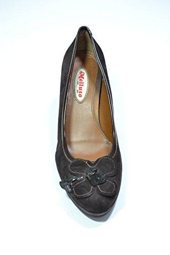 Melluso Decolte' scarpe donna t.moro V5105