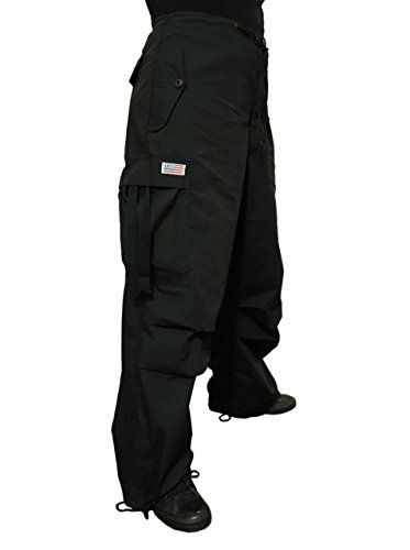 Pants Ufo (UFO's Classic Wind Pant, Black (Medium))
