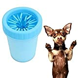 Touch of Trend Dog paw cleaner portable dogs feet cleaning silicone washer foot brush (Medium)