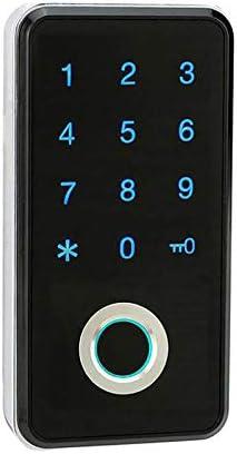 Nrpfell 指紋パスワードロック 電子パスワードキャビネットロック ロッカーロック ファイルキャビネットオフィスキャビネットスマートロック