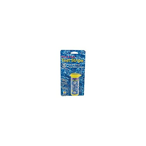JED Pool Tools 00-IT490 Pool Test Strips, 5-Factor, 50-Ct. - Quantity 12