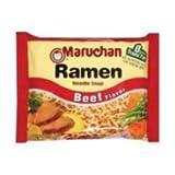 Maruchan Ramen Noodle Soup Beef Flavor - 3 oz. package, 24 per case