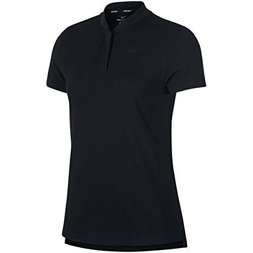 ナイキ NIKE 半袖シャツ?ポロシャツ エアロリアクト 半袖ポロシャツ レディス ブラック/(ブラック) 010 S