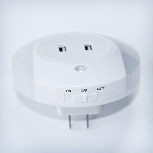 Plug In Motion Sensor Led Night Light Motion Activated Led