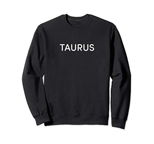 BuzzFeed Taurus Zodiac Sign Sweatshirt