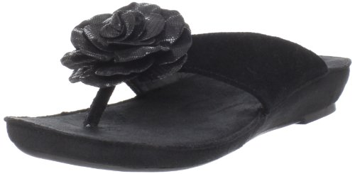 Aerosoles Womens Intellect Thong Sandal Black Suede YYxyjscOD