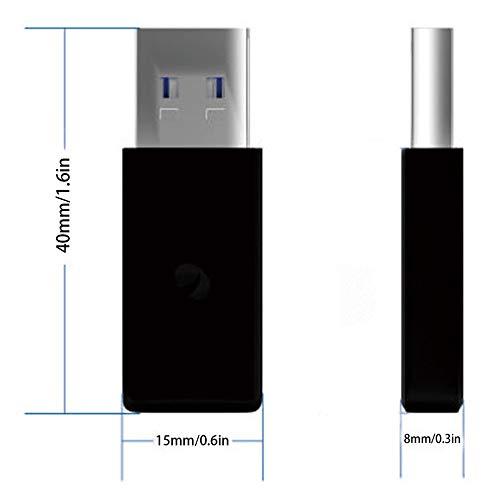 Prinfong Mini Portable USB 3.0 /à Type-C m/âle /à Femelle Adaptateur Adaptateur convertisseur de Charge Haute Vitesse pour t/él/éphone Tablette Portable