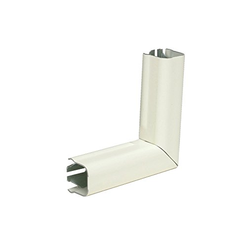 Wiremold 711Wh 90 Degree Flat Elbow White 2