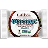 Nutiva O'Coconut Lightly Sweetened Treat - Classic - 0.5 oz (Pack of 24)