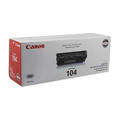 Genuine Canon ImageClass MF4150, MF4270, MF4350, D480, Faxphone L90 - 0263B001AA (Canon 104) (Ink Drum Fax Cartridges)