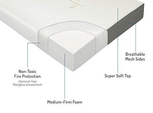 Milliard Tri Folding Queen Mattress with Washable Cover