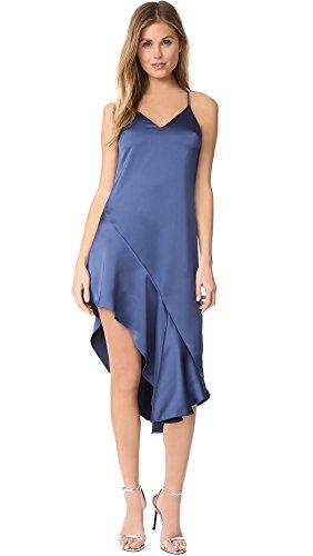 Blue 2 Satin Skirt - 3