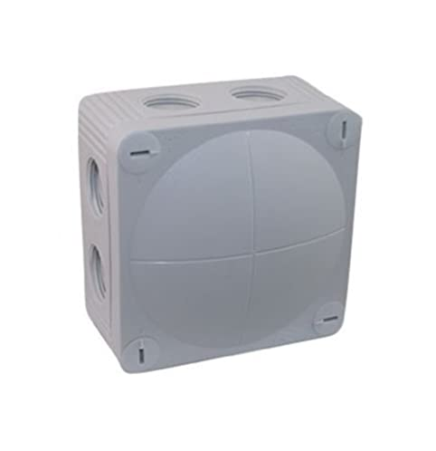 IP66 Grey Weatherproof Outdoor / External Junction Box Complete With  Connector By SEL