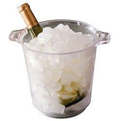 1 Gallon Plastic Ice Buckets - Case of 6
