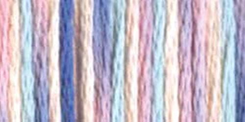 DMC 417F-4214 Color Variations Six Strand Embroidery Floss, 8.7-Yard, Cotton Candy