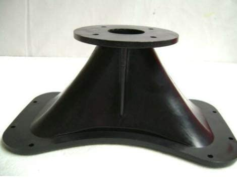 """2/"""" ABS Horn Bolt-On 12/"""" x 7/"""" For Many Bolt On Drivers w// Curved Bottom"""
