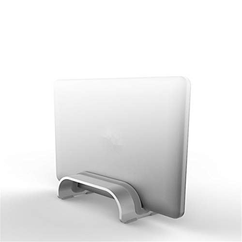 Sala-Deco - Adjustable Vertical Laptop Stand Space-Saving Desktop Curved Holder For MacBook Pro Air Tablet Rack Laptops PC Organizer from Sala-Deco