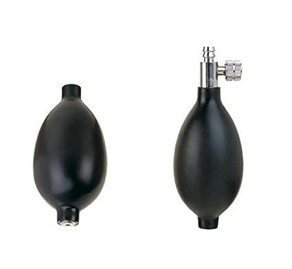 Pera con valvula para tensiometro