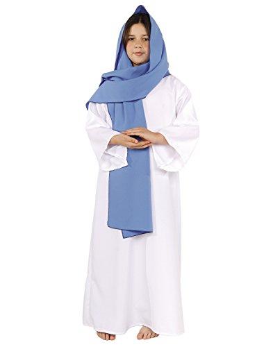 Underwraps Women's Virgin Mary Costume, Blue, Medium -