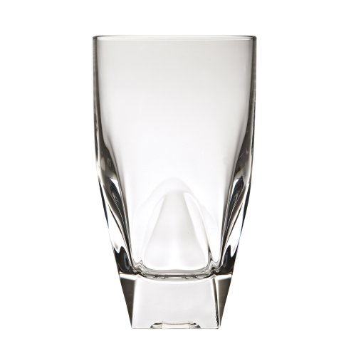 Lorren Home Trends Diamante Collection Double Old Fashion Drinking Glass by RCR Italy, Set of 6 ()