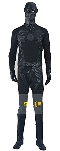 The Flash Zoom Costume (Mtxc Men's The Flash Cosplay Costume Zoom Full Set Size Small Black)