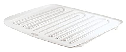 Rubbermaid Antimicrobial Drain Board Large, Clear by Rubbermaid SYNCHKG091371