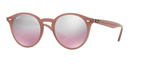 Ray Ban RB2180 62297E 49M Opal Antique Pink/Pink Mirror Silver Gradient Sunglasses For Men For ()