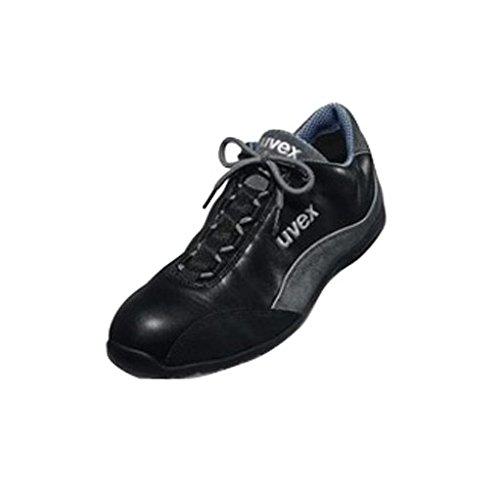 Uvex 9497.9�?Motorsports Style Nappa Leder Schuh, S1, Größe 5, Schwarz Schwarz