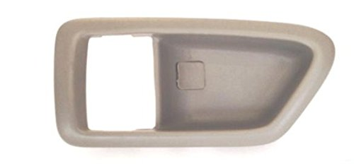 Tan Lh Drivers (DELPA CL4103 - Inside Door Handle Bezel Trim Cover Casing BEIGE LH Fits: 1997 thru 2001 Toyota Camry LEXUS ES300)